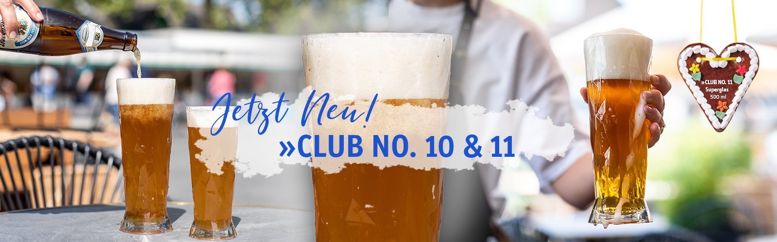 Bierglas CLUB NO. 10 & 11
