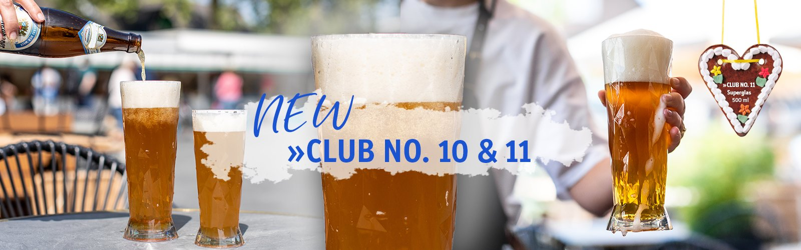 Beerglass CLUB NO. 10 & 11