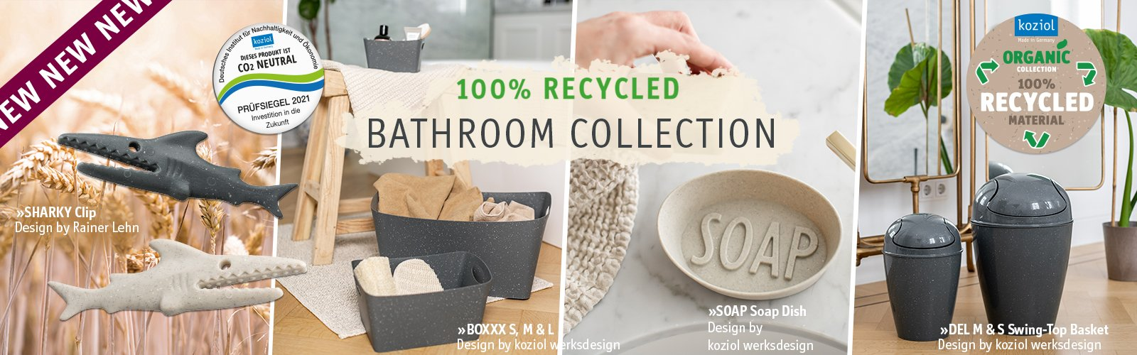 Recycled Bathroom